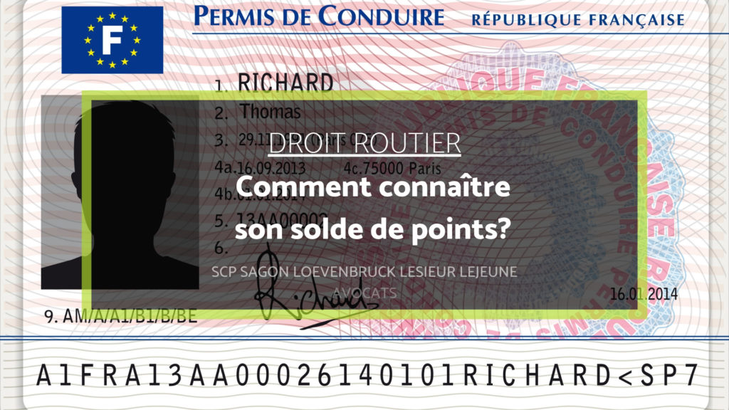 connaître son solde de points