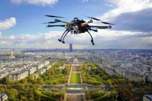 surveillance par drone
